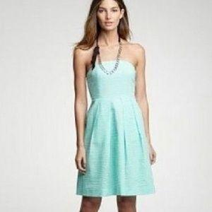 J. Crew Lorelei Printed Embossed Dress